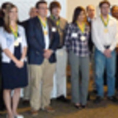 College Faculty Recognize Former Students at Alumni Weekend
