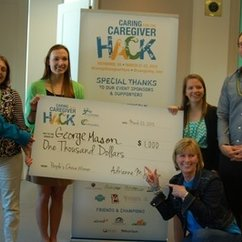 "HFAC Students, Matt Jesso and Ben Ruggeberg Win People's Choice Award at ""Caring for the Caregiver Hack-a-thon"""