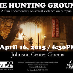 The Hunting Ground at GMU Thursday 4/16 6:30pm JCC