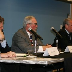"Panel of Speakers Engaged in the Timely Topic of ""Weapons in a Global Age"""
