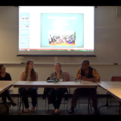 Global Affairs Graduate Research in South Africa event clips