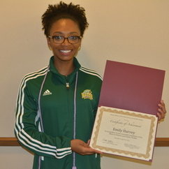 WGST Minor Student Wins Outstanding Oral Presentation at CHSS 2015 Undergraduate Research Symposium
