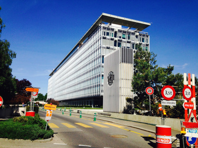 MA Grad Interns at the WHO in Geneva