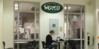 Visiting WGMU Radio at George Mason University