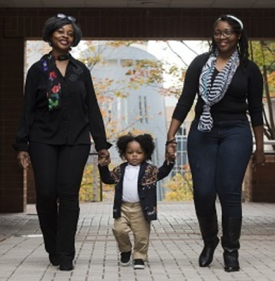 Family of the Year: Mother's Tough Love Pushes Daughter to a Mason Degree