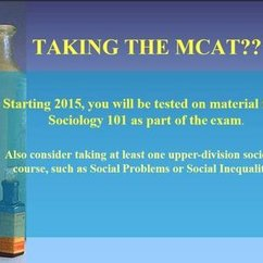 Taking the MCAT? Get a Minor in Sociology