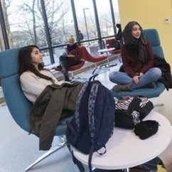 Fenwick Library addition provides modern research and collaborative space for students