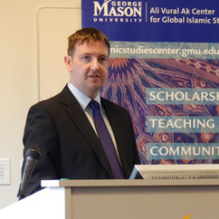 "Robert Mason discusses ""Muslim Minority-State Relations"""