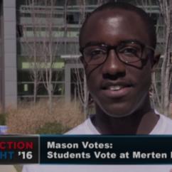 Mason Students Vote in Virginia Primary