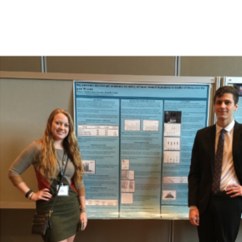 Students Jaclyn Thomas and Ryan Alexander Present at the American Association of Physical Anthropology