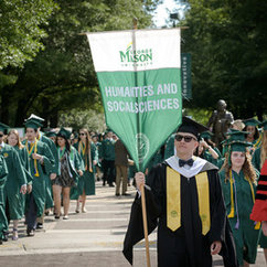 Criminology, Law and Society Most Popular Major at Mason's Spring Commencement