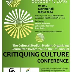 10th Annual Critiquing Culture Conference