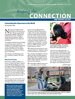 news fall 2013 new century college newsletter keeping the connection