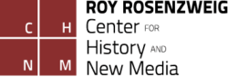 Center for History and New Media Logo