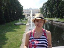 Sasha Zinovik in St. Petersburg