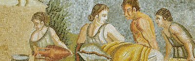 Mosaic from Rome.