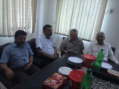 Syed Shabib ul Hassan, Khalid Iraqi, James Witte, Mehtab Karim