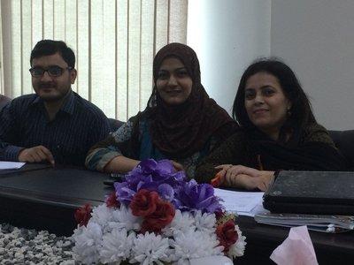 Wasif Ali, Munazza Danish, Roohi Hasan