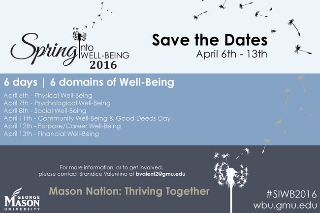 Spring into Well-Being 2016