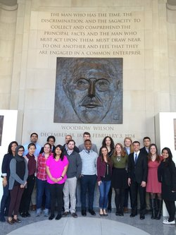 GPF spring 2016 Site Visit to the Woodrow Wilson Center