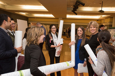 Students and Faculty wrapping up another successful Undergraduate Research Symposium