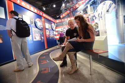 New Century College students tour the Washington, D.C. Newseum