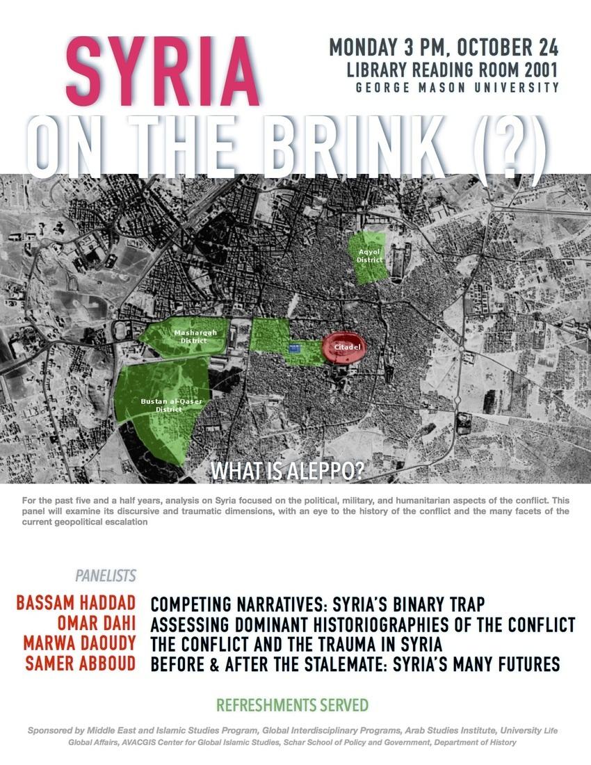 Syria Panel Flyer