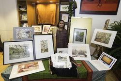 Doler and her artwork