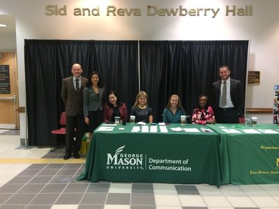 Table in dewberry hall