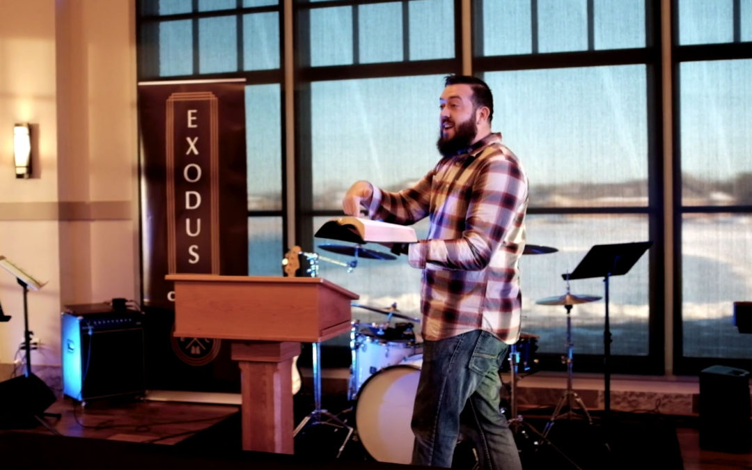 First Words Preached at Exodus Church