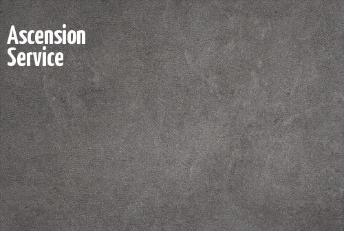 Ascension Service banner