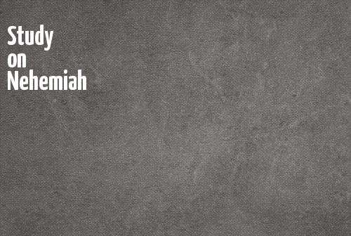 Study on Nehemiah banner