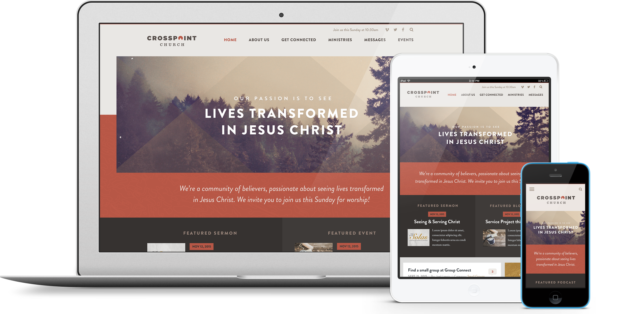 weve got you covered - Church Website Design Ideas