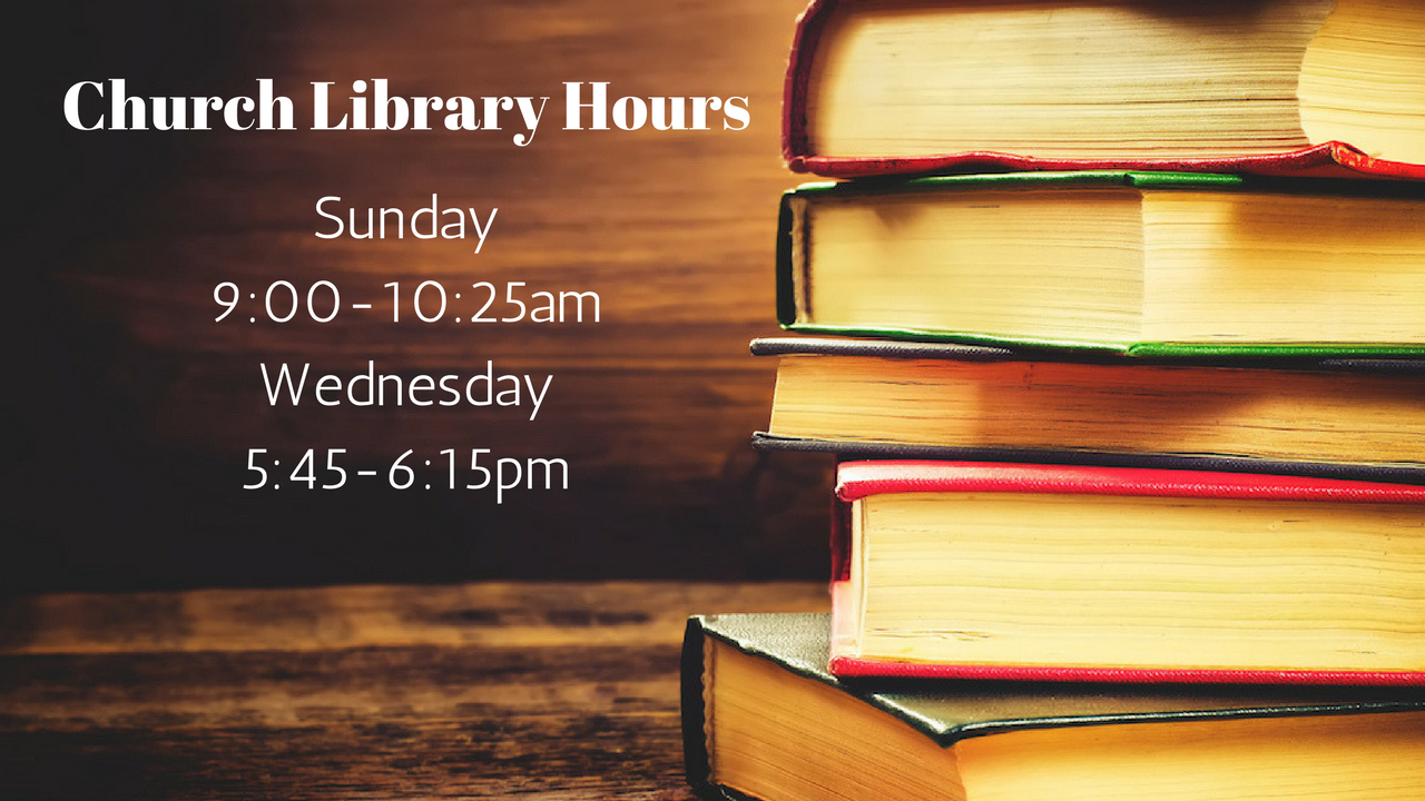 Church Library Hours