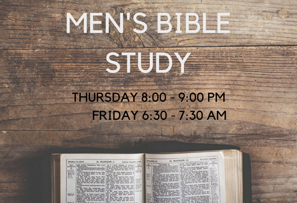 Website-MEN'S BIBLE STUDY