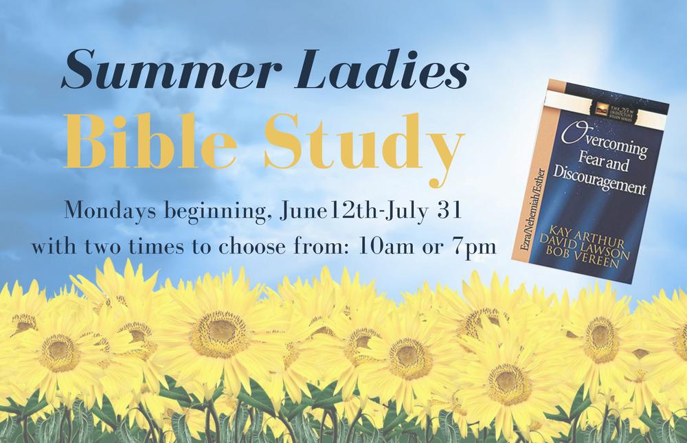 Website- Summer Ladies Bible Study image
