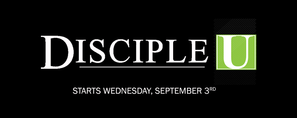 Disciple U Splash 9.14