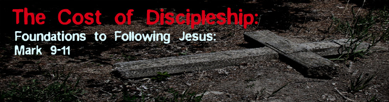 The Cost of Discipleship: Foundations for Following Jesus banner