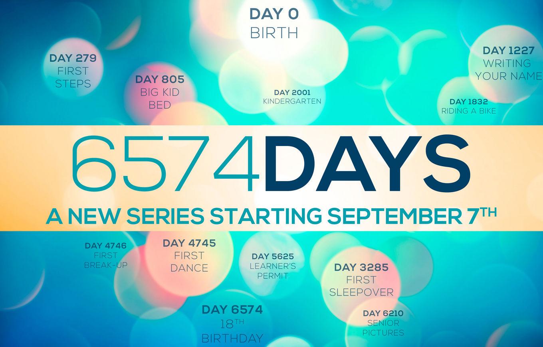 6,574 Days banner