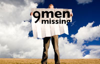 9 Men Missing banner
