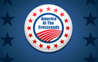 America At The Crossroads banner