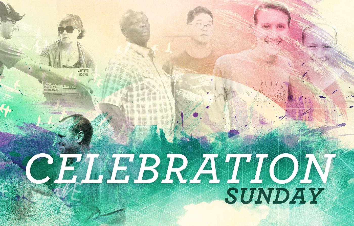 Celebration Sunday banner