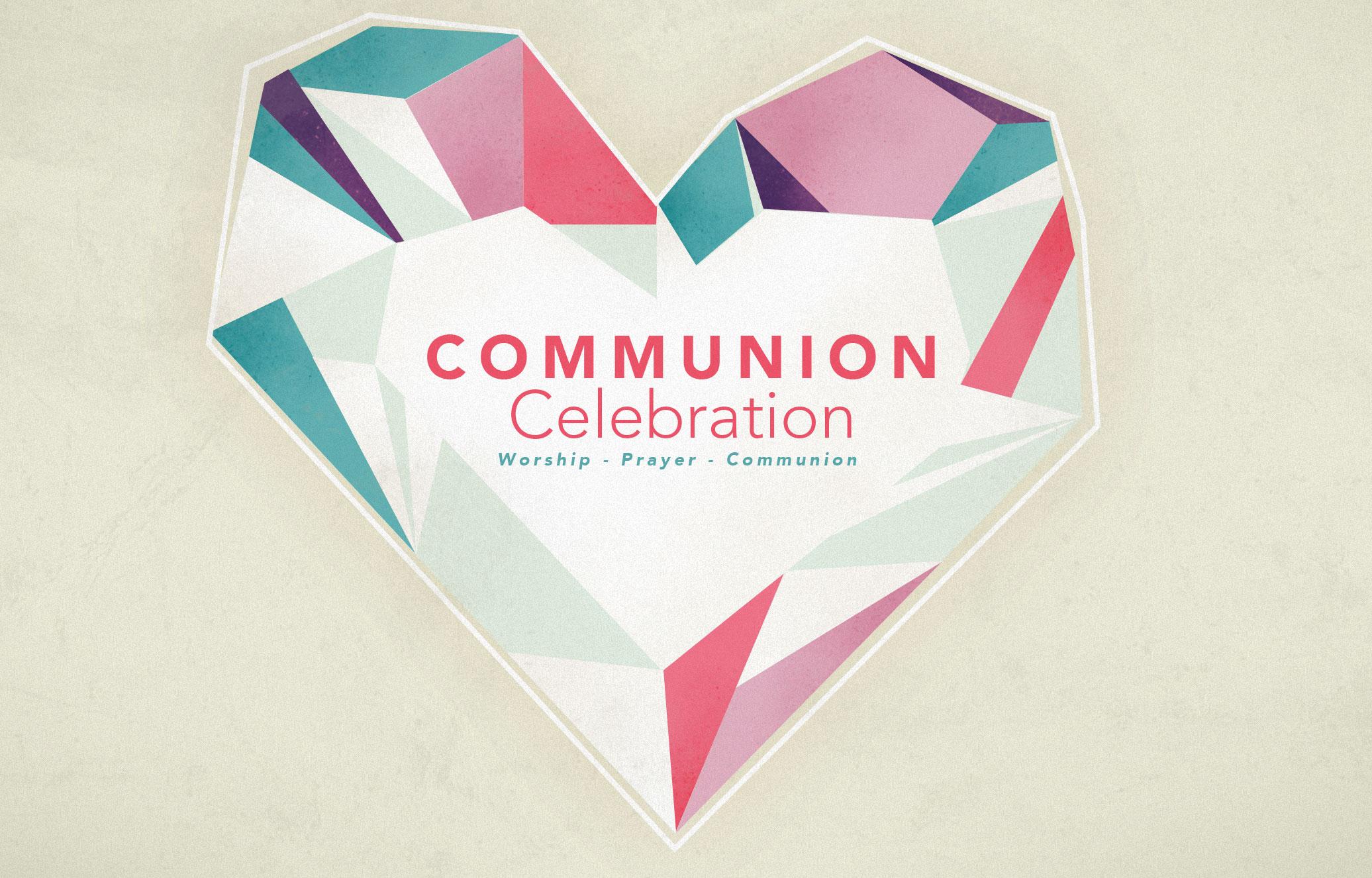 Communion Celebration banner
