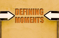 Defining Moments banner