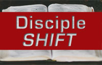 Disciple SHIFT banner