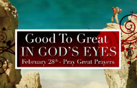 Good To Great in God's Eyes banner