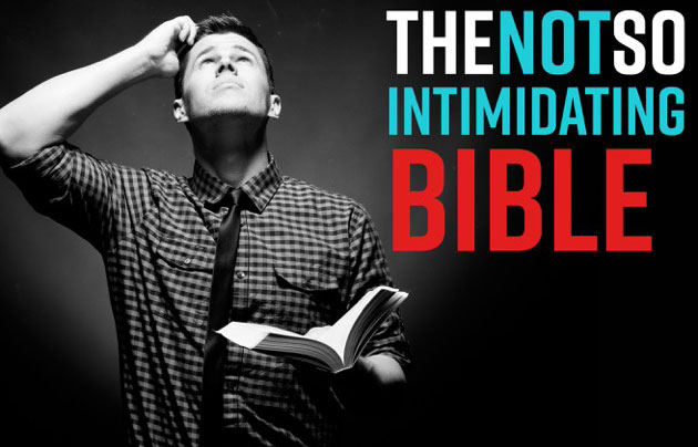 The Not So Intimidating Bible banner