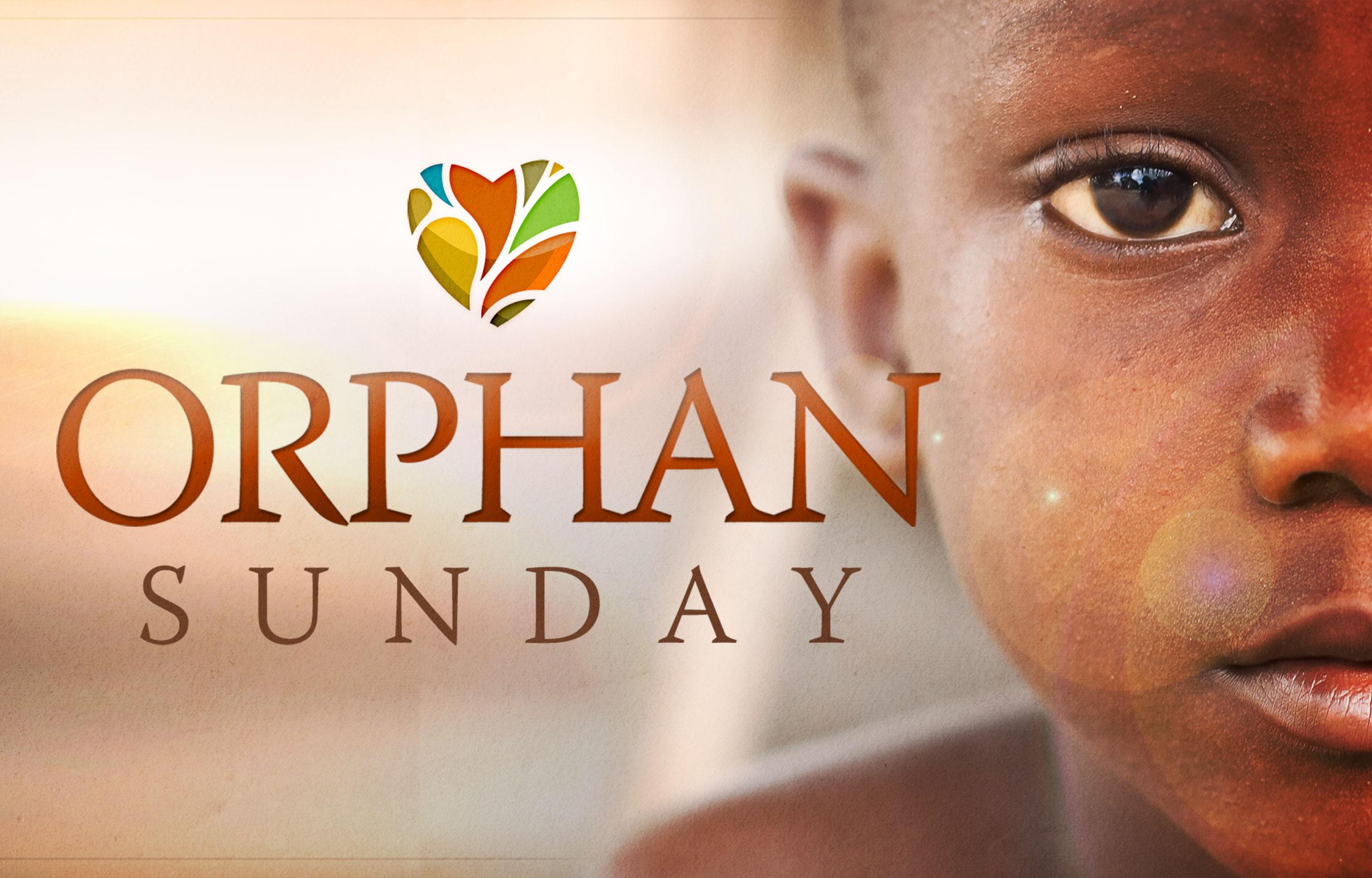 Orphan Sunday banner