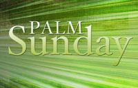 Palm Sunday 2012 banner