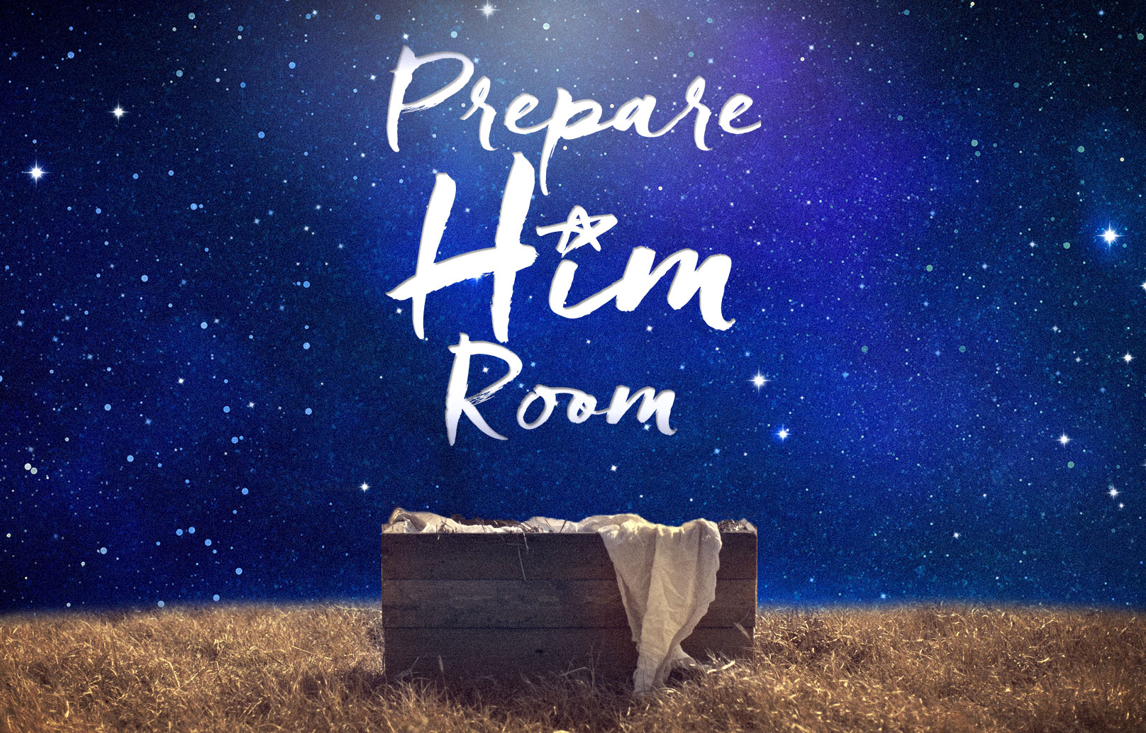 Prepare Him Room banner